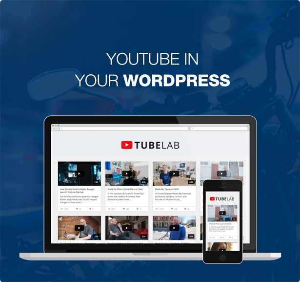 - tubelab description cover - Tubelab – YouTube plugin for WordPress